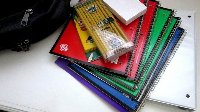 Les types de fournitures scolaires