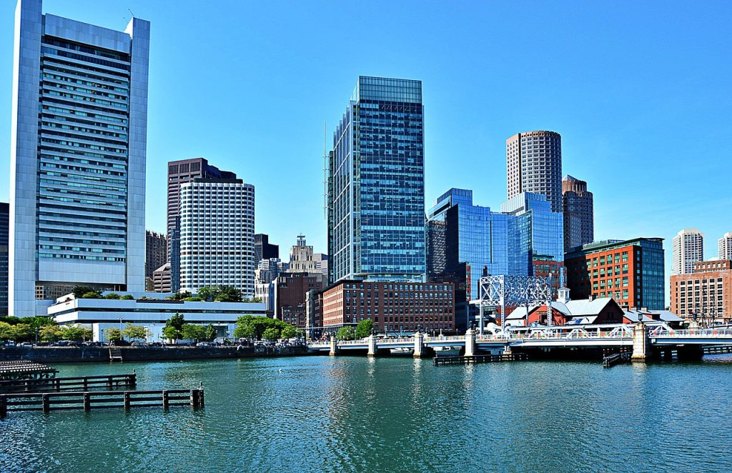 Les lieux romantiques de Boston